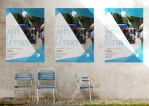 affiche arts et lettres à Quissac 2017