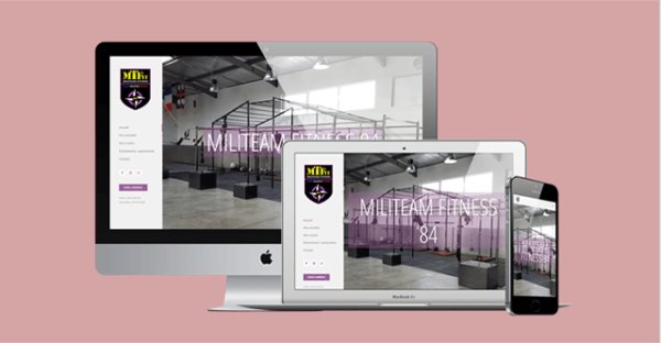 site web militeam fitness Le Thor