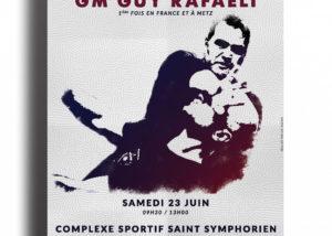 affiche stage Krav Maga à Metz 23 juin 2018