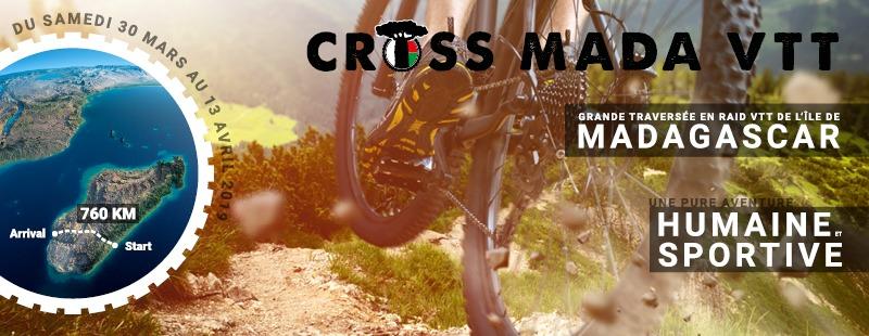 Bannière Facebook du Cross Mada VTT