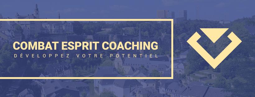 Création d'une bannière Facebook pour combat esprit coaching - Luxembourg