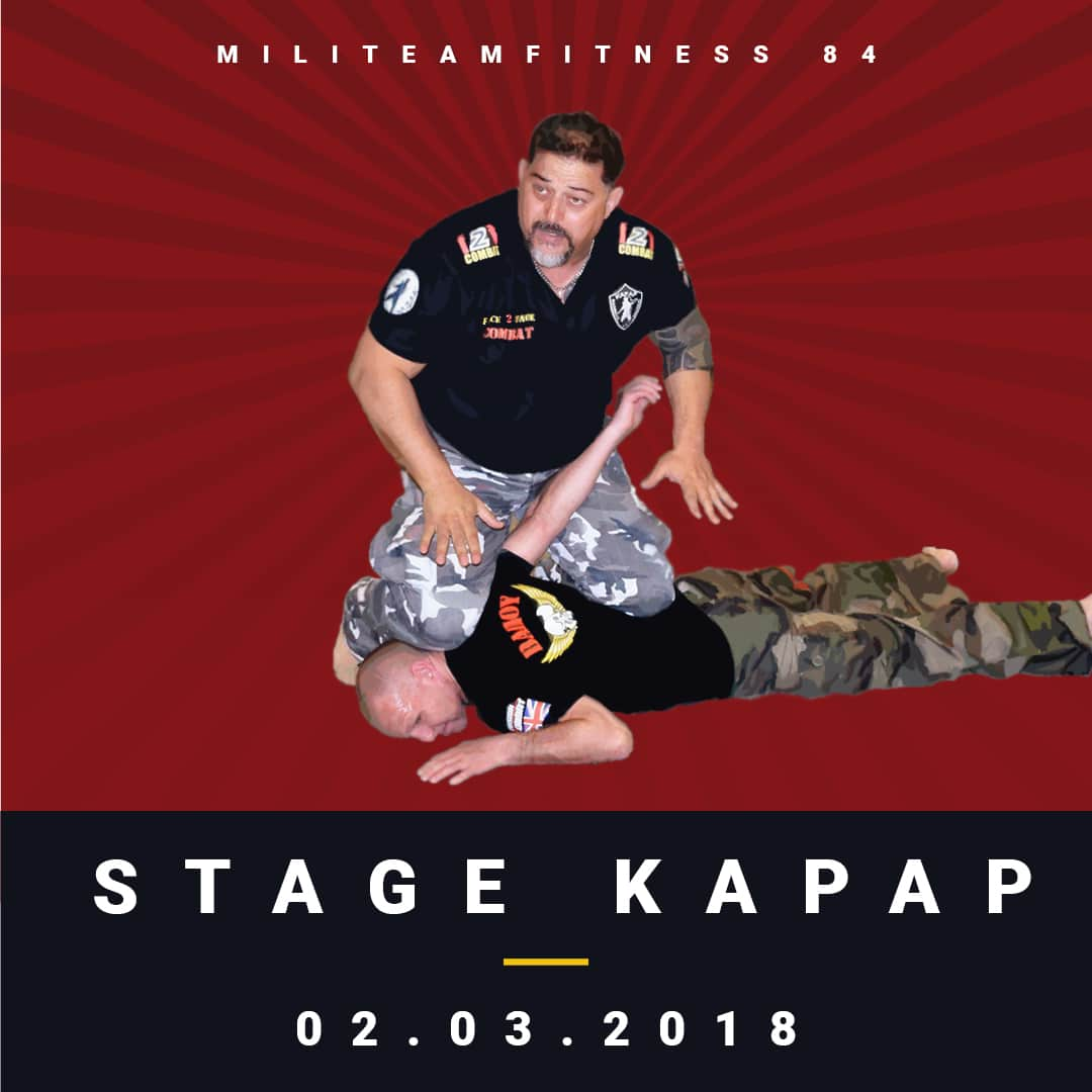 Post Instagram - Stage KAPAP - Club Défense Combat 84 - Le Thor - Proche Avignon