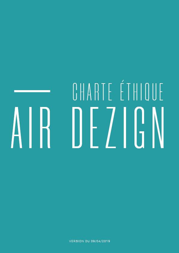 Charte éthique Air Dezign