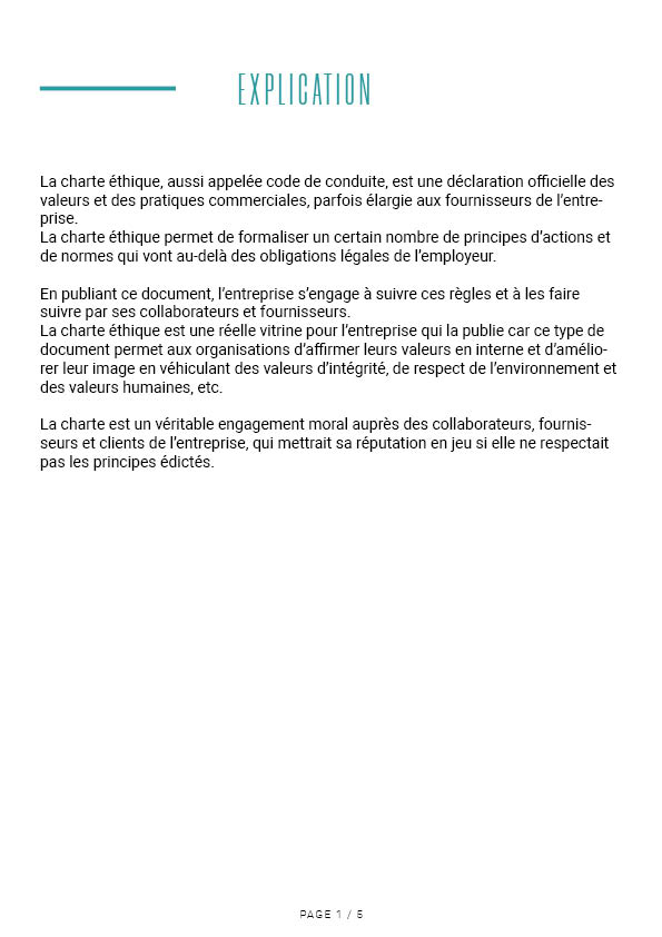 Charte éthique Air Dezign 2