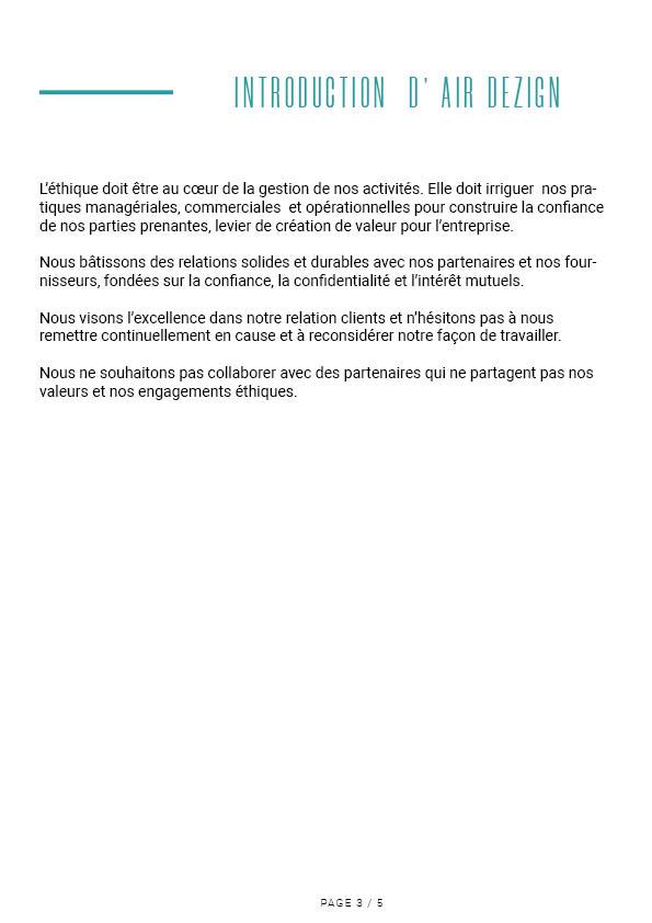 Charte éthique Air Dezign 4