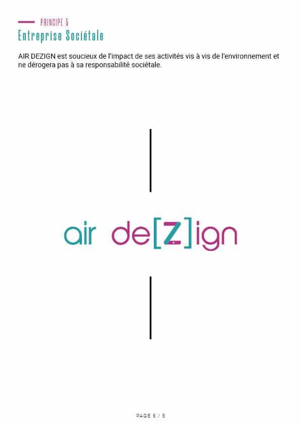 Charte éthique Air Dezign 6