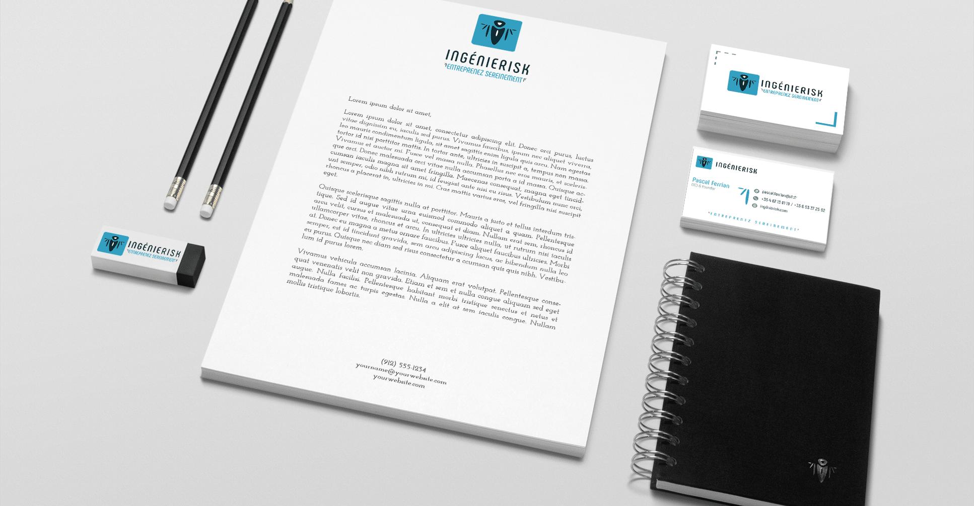 création du logo Ingenierisk