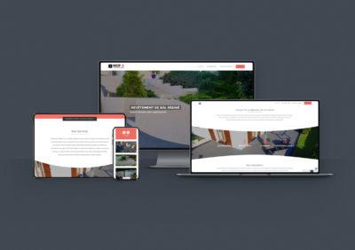 Création du site internet d'EKIP-R - Remiremont - Vosges