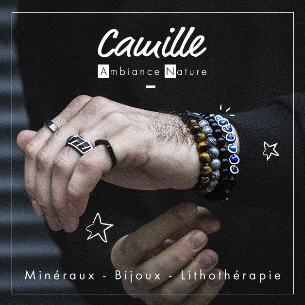 Création graphique du visuel d'un post Facebook pour Camille Ambiance Nature